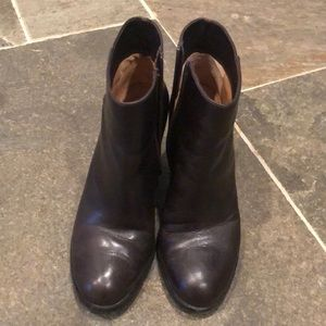 Via Spiga Leather Heeled Boots
